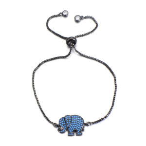 Ατσάλι – Elegant Elephant Black 1